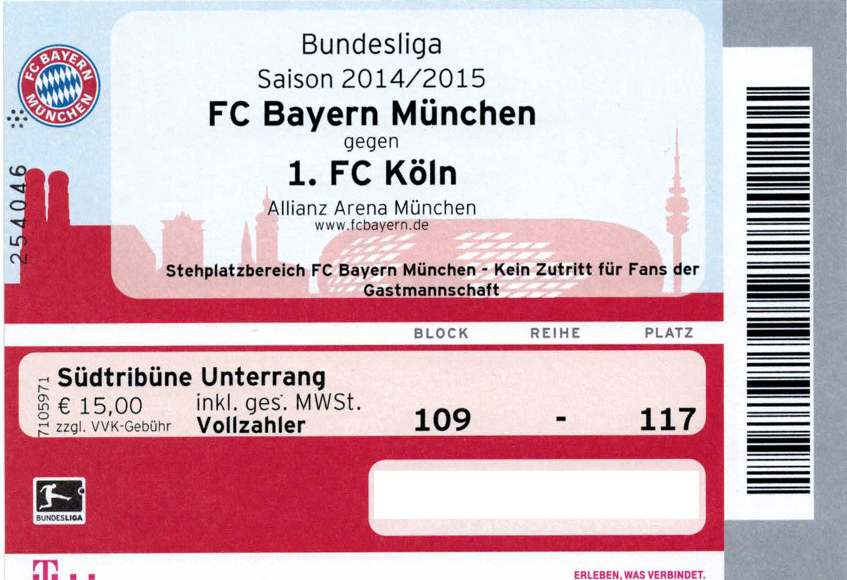 fc bayern tickets vip