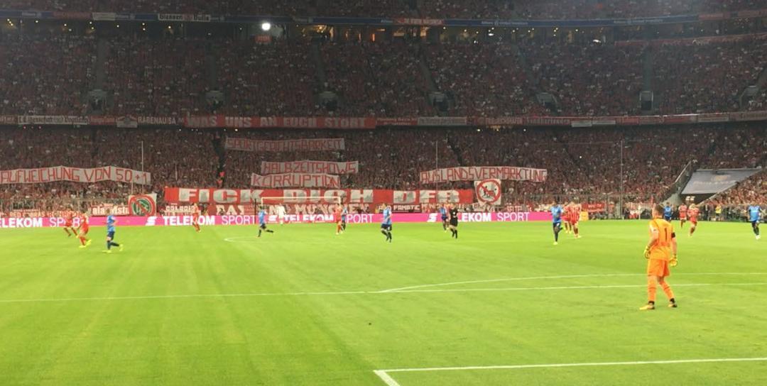 FC Bayern München – Bayer 04 Leverkusen – 18.08.2017