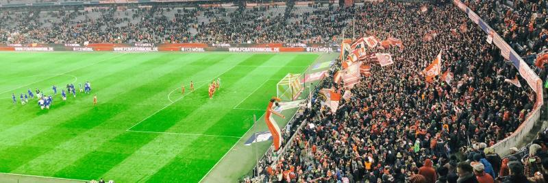 FC Bayern München - FC Schalke 04 am 10.02.2018