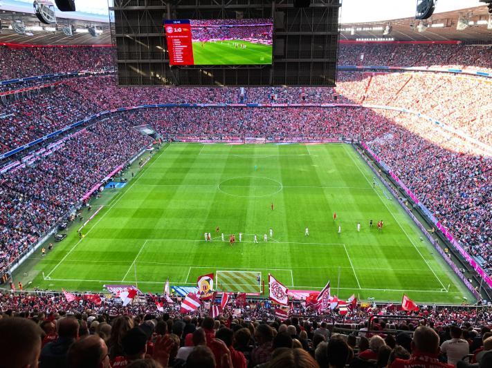 FC Bayern München – 1. FC Union Berlin am 26.10.2019
