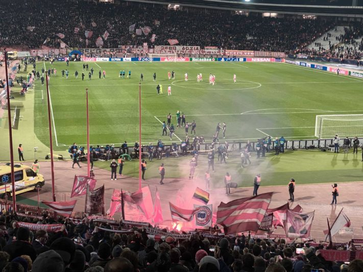 Fußballclub Roter Stern Belgrad - FC Bayern München am 26.11.2019