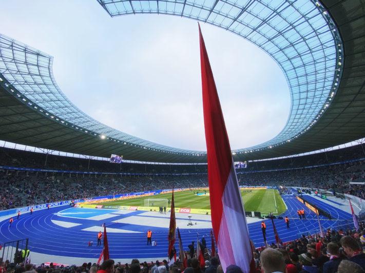 Hertha Berliner Sport-Club e. V. - FC Bayern München am 19.01.2020