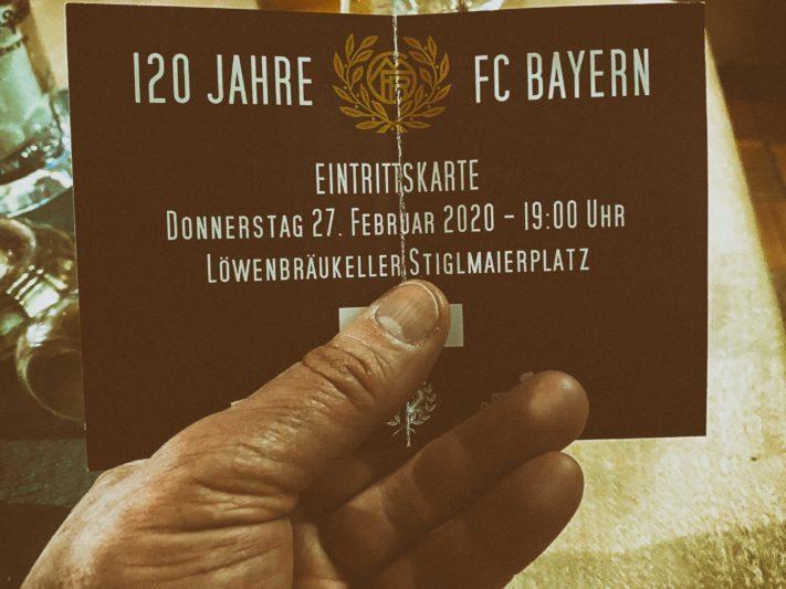 120 Jahre Geburtstagsfeier im Löwenbräukeller München am 27.02.2020