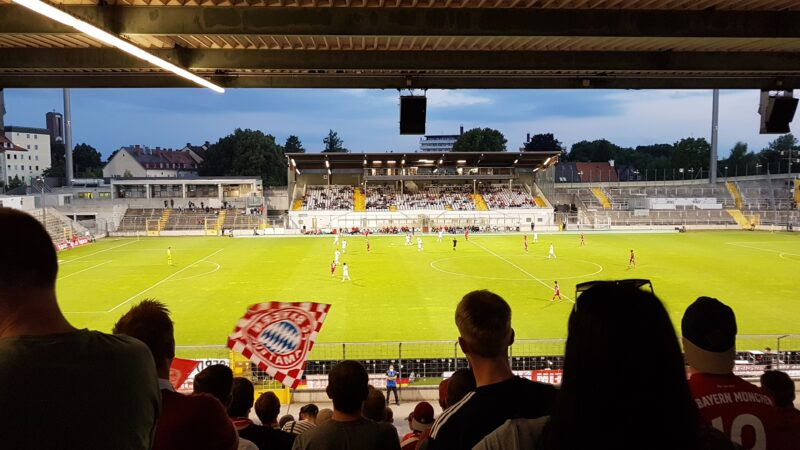 FC Bayern München Amateure – SpVgg Unterhaching am 20.08.2021, Ergebnis 5:1 (1:1)