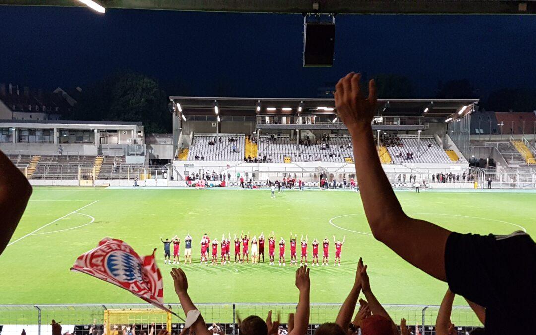 FC Bayern München Amateure – SpVgg Unterhaching – 20.08.2021